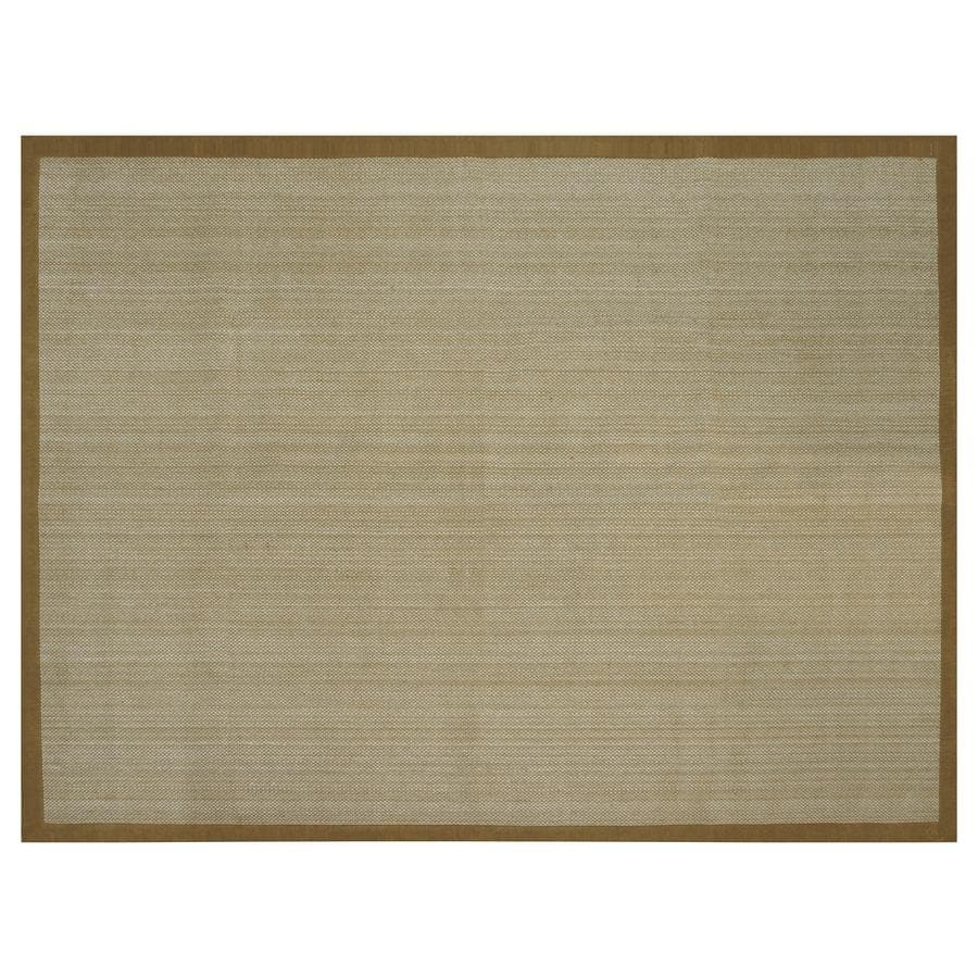 allen + roth Northbridge New Gold Rectangular Indoor Handcrafted Area Rug (Common: 9 x 12; Actual: 9-ft W x 12-ft L)