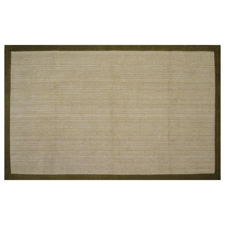 allen + roth Northbridge New gold Rectangular Indoor Handcrafted Area Rug (Common: 5 x 8; Actual: 5-ft W x 7.75-ft L)