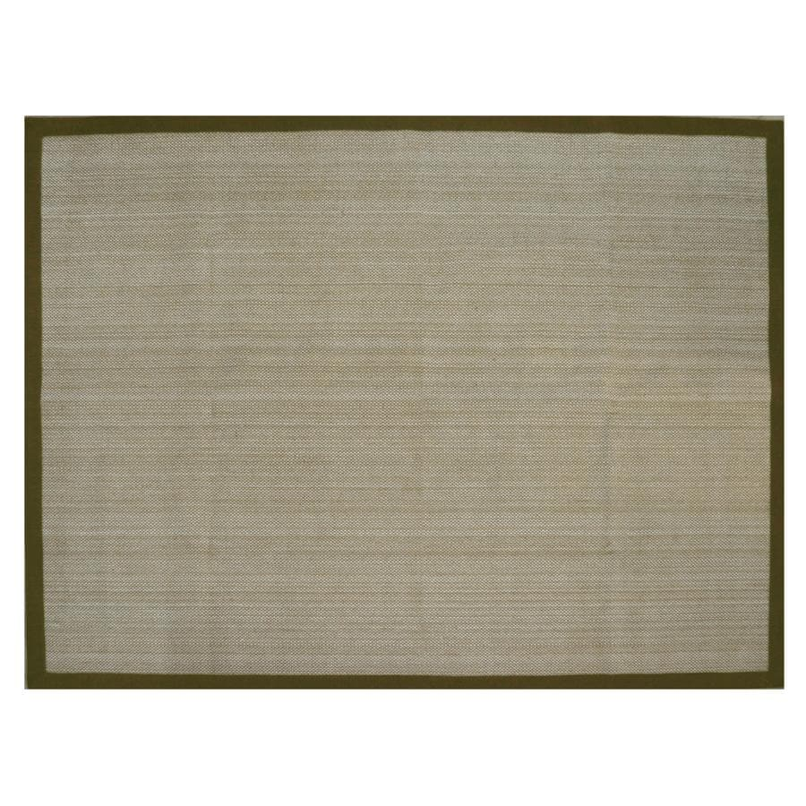 allen + roth Northbridge Basil Rectangular Indoor Woven Area Rug (Common: 8 x 11; Actual: 96-in W x 126-in L)