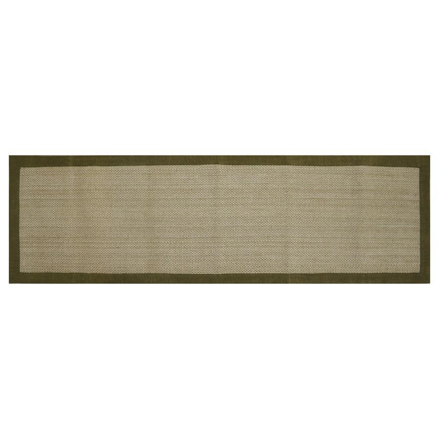 allen + roth Northbridge Basil Rectangular Indoor Handcrafted Runner (Common: 2 x 8; Actual: 2-ft W x 7.5-ft L)