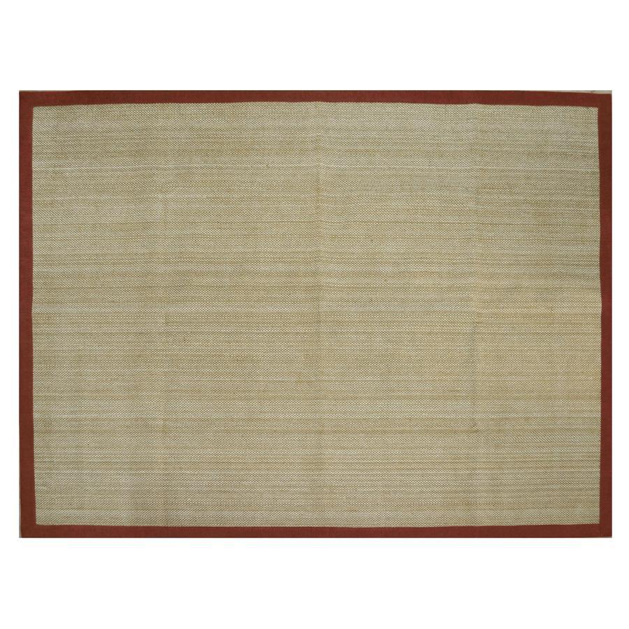 allen + roth Northbridge Tropical Red Rectangular Indoor Woven Area Rug (Common: 8 x 11; Actual: 8-ft W x 10.5-ft L)