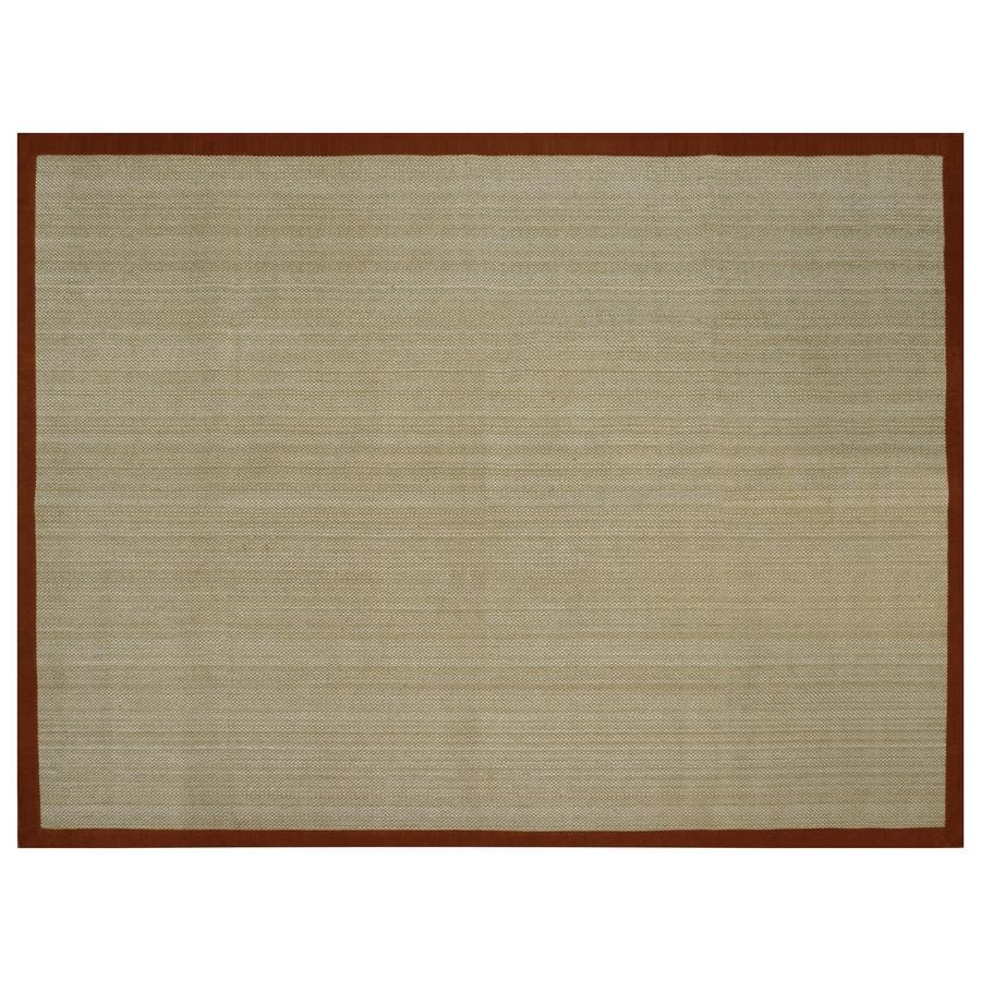 allen + roth Northbridge Tropical Red Rectangular Indoor Woven Area Rug (Common: 9 x 12; Actual: 108-in W x 144-in L)