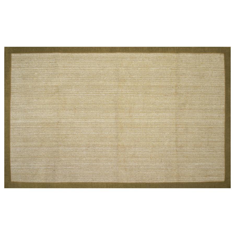 allen + roth Northbridge Maple Rectangular Indoor Handcrafted Area Rug (Common: 5 x 8; Actual: 5-ft W x 7.75-ft L)