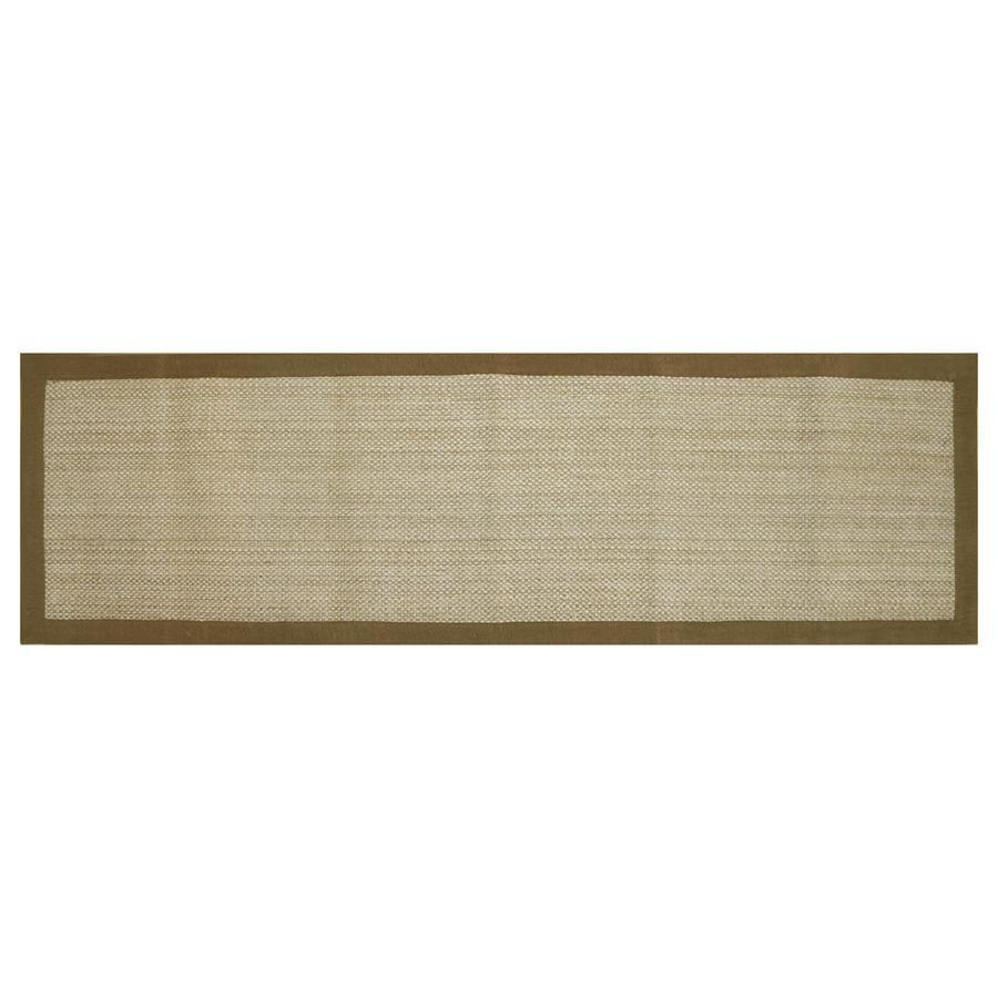allen + roth Northbridge Maple Rectangular Indoor Handcrafted Runner (Common: 2 x 8; Actual: 2-ft W x 7.5-ft L)