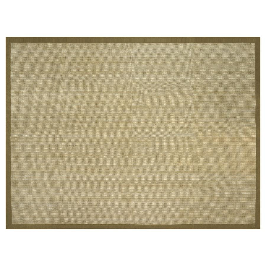 allen + roth Northbridge Maple Rectangular Indoor Handcrafted Area Rug (Common: 9 x 12; Actual: 9-ft W x 12-ft L)