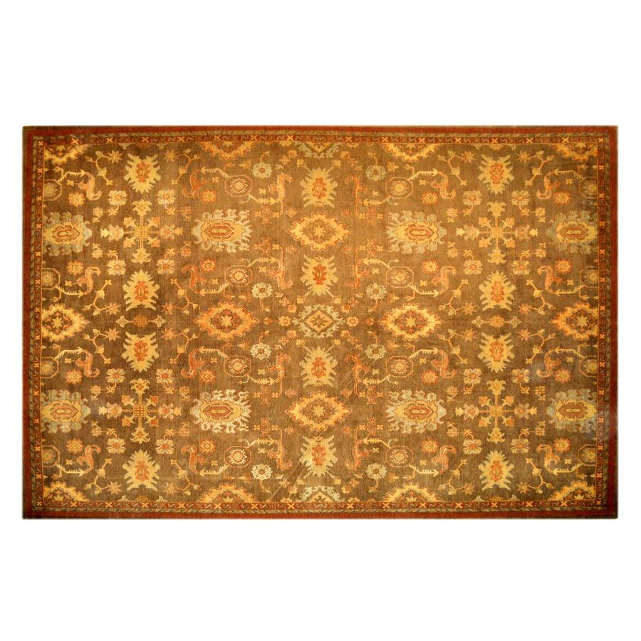 allen + roth Marinella 9-ft x 12-ft Rectangular Brown Transitional Area Rug