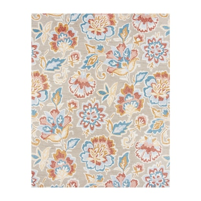 Milano Warm Multi Rectangular Indoor Outdoor Handcrafted Area Rug Common 9 X 12 Actual Ft W L