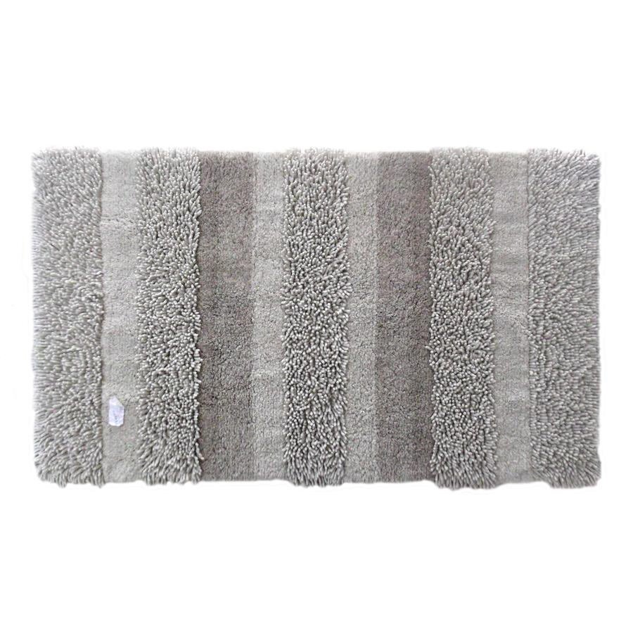 allen + roth Beige Rectangular Indoor Tufted Throw Rug (Common: 2 x 4; Actual: 2.5-ft W x 4.17-ft L)