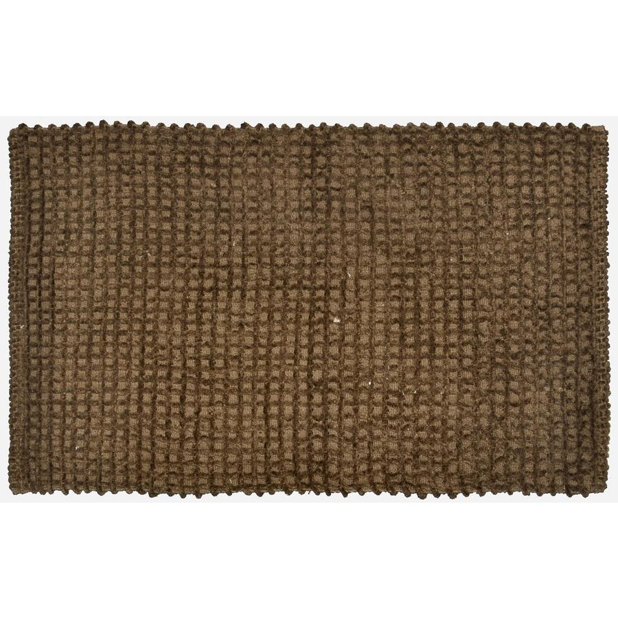 allen + roth Brown Rectangular Indoor Woven Throw Rug (Common: 2 x 4; Actual: 24-in W x 40-in L)