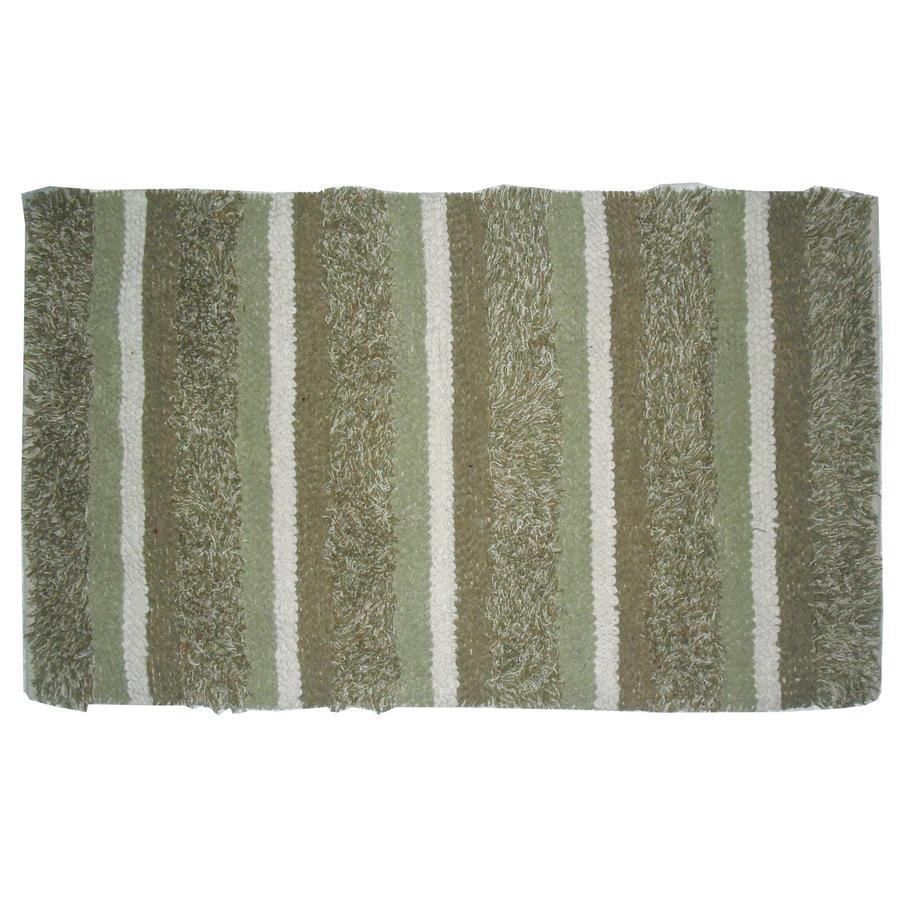 allen + roth Mineral Rectangular Indoor Woven Throw Rug (Common: 2 x 4; Actual: 27-in W x 45-in L)
