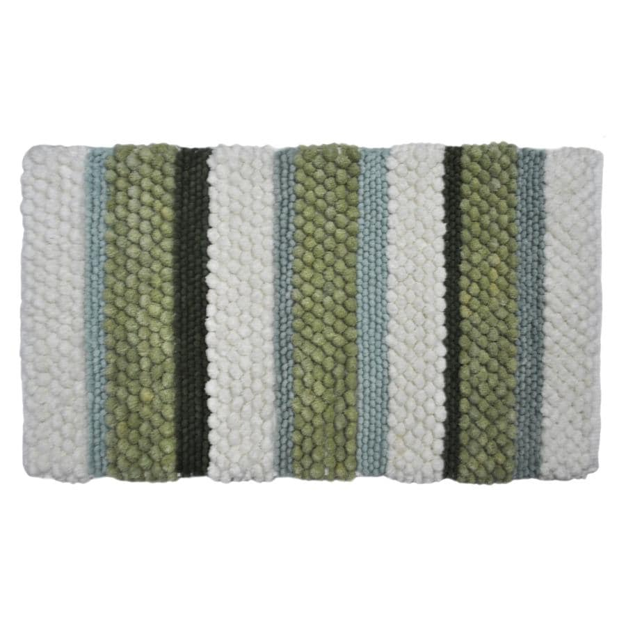 Style Selections Multicolor Rectangular Indoor Woven Throw Rug (Common: 2 x 4; Actual: 27-in W x 45-in L)