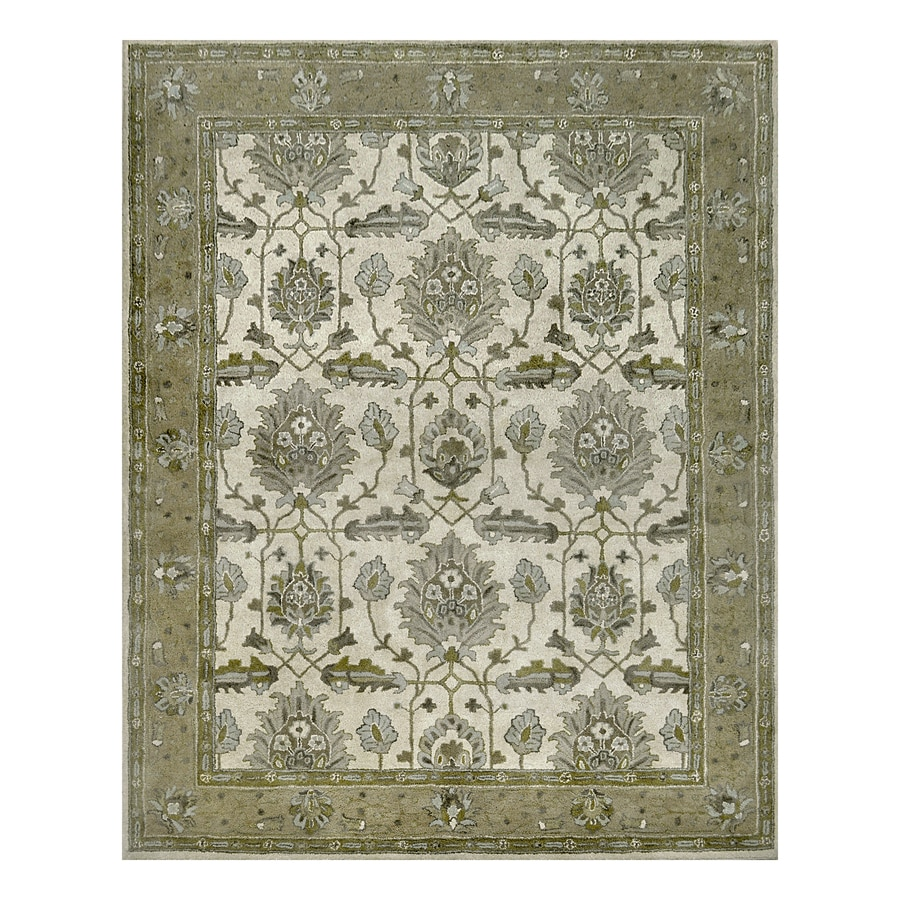 allen + roth Multi Rectangular Indoor Handcrafted Area Rug (Common: 8 x 10; Actual: 8-ft W x 10-ft L)