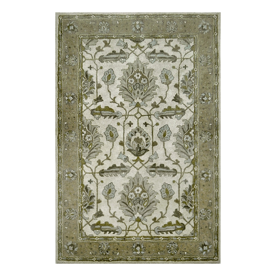allen + roth Multi Rectangular Indoor Tufted Area Rug (Common: 5 x 8; Actual: 5-ft W x 7.5-ft L)