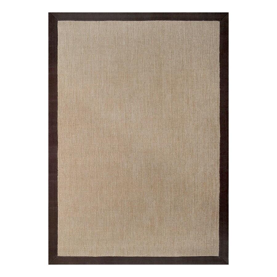 allen + roth Walnut Rectangular Indoor Woven Area Rug (Common: 5 x 8; Actual: 60-in W x 90-in L)