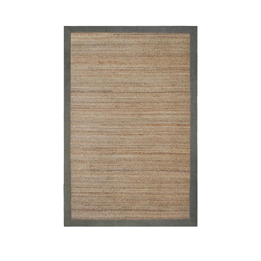 allen + roth Witham Sage Rectangular Indoor Braided Area Rug (Common: 5 x 8; Actual: 5-ft W x 7.5-ft L)