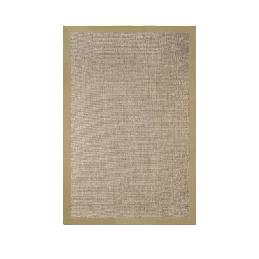 allen + roth Nacton Natural Rectangular Indoor Woven Area Rug (Common: 9 x 12; Actual: 9-ft W x 12-ft L)