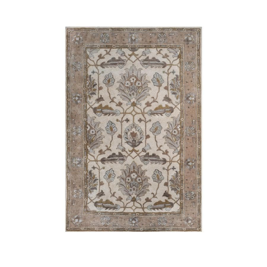 Allen + Roth Southminster Rectangular Indoor Handcrafted Area Rug (Common:  9 X 12;