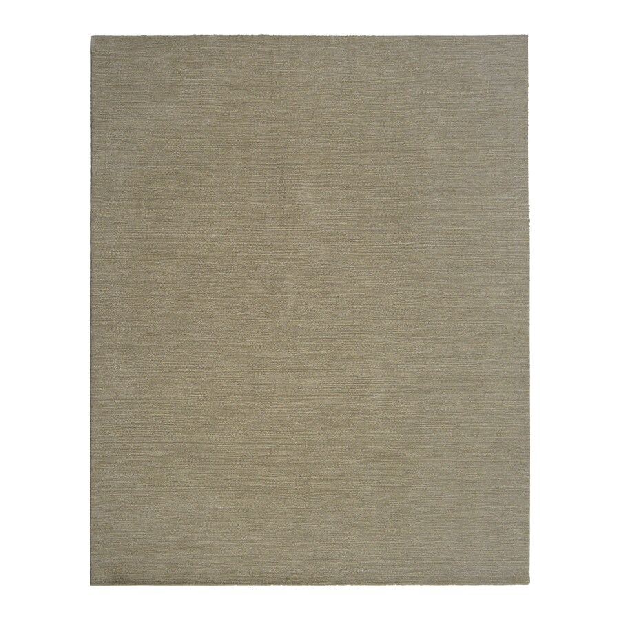 allen + roth Oatmeal Rectangular Indoor Woven Area Rug (Common: 8 x 10; Actual: 8-ft W x 10-ft L)