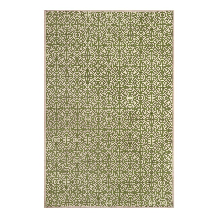 allen + roth Maysburg Winter pear Rectangular Indoor Machine-Made Area Rug (Common: 8 x 10; Actual: 8-ft W x 10-ft L)