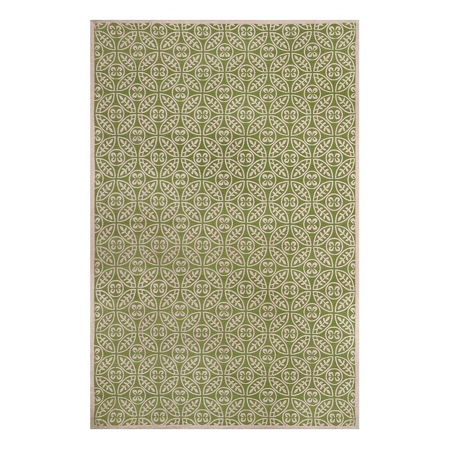 allen + roth Maysburg Winter pear Rectangular Indoor Machine-Made Area Rug (Common: 9 x 12; Actual: 9-ft W x 12-ft L)