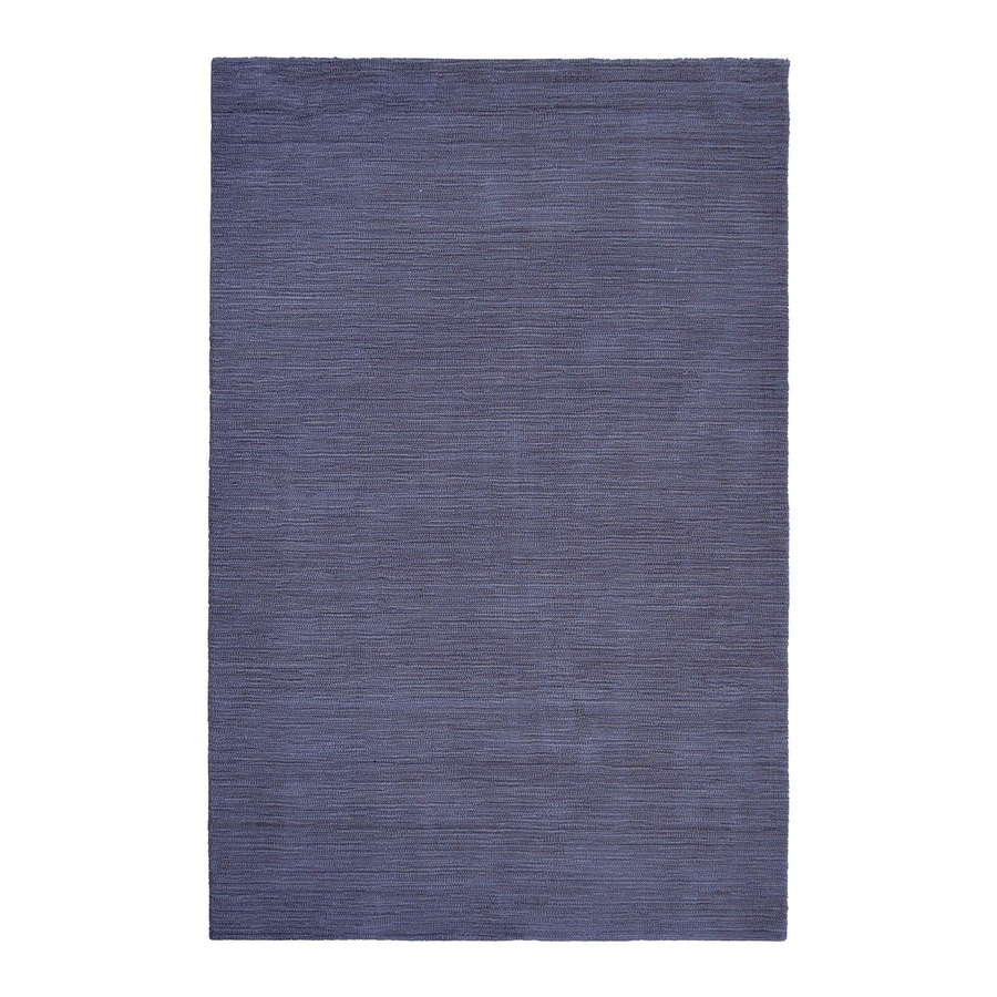 allen + roth Monteith Indigo Rectangular Indoor Woven Area Rug (Common: 5 x 8; Actual: 60-in W x 90-in L)