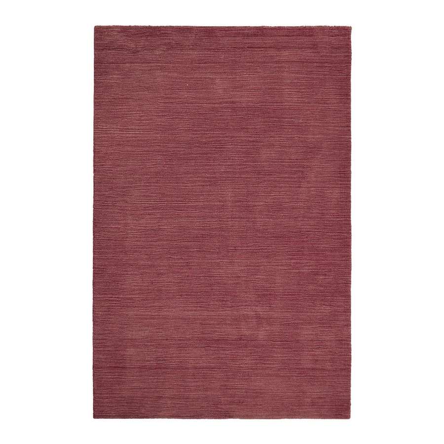 allen + roth Monteith Red Rectangular Indoor Woven Area Rug (Common: 5 x 8; Actual: 5-ft W x 7.5-ft L)