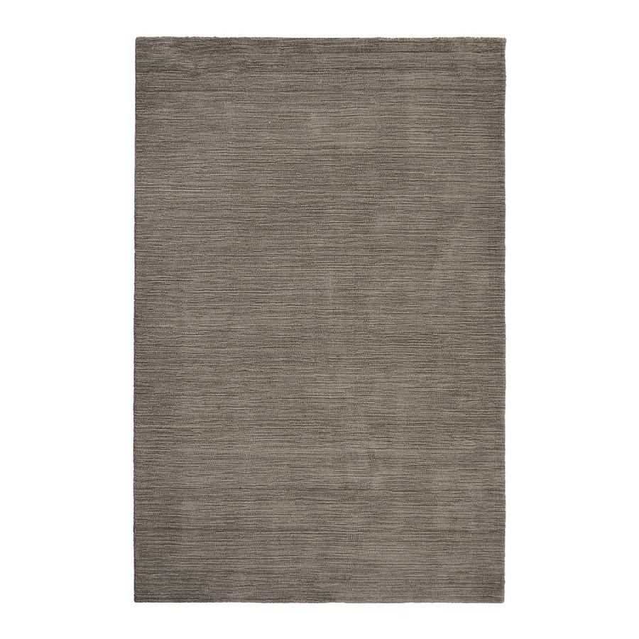 allen + roth Monteith Brown Rectangular Indoor Woven Area Rug (Common: 8 x 10; Actual: 8-ft W x 10-ft L)