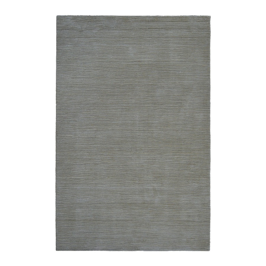 allen + roth Monteith Blue Rectangular Indoor Woven Area Rug (Common: 5 x 8; Actual: 60-in W x 90-in L)