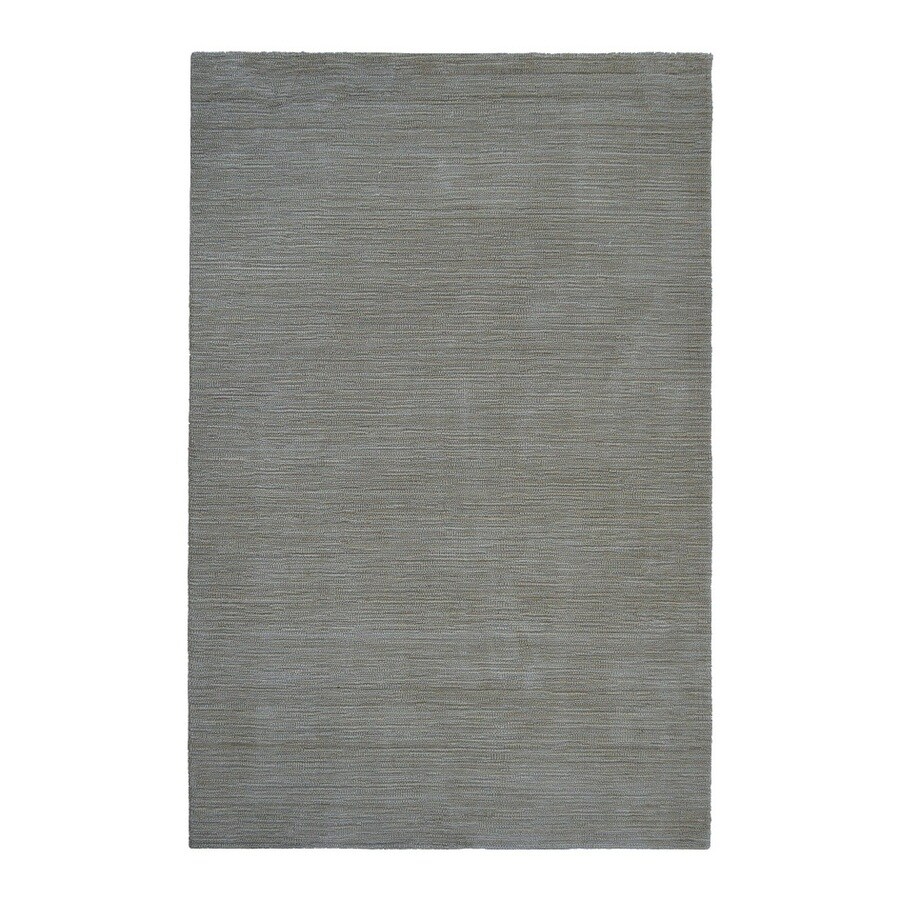 allen + roth Monteith Blue Rectangular Indoor Woven Area Rug (Common: 8 x 10; Actual: 8-ft W x 10-ft L)