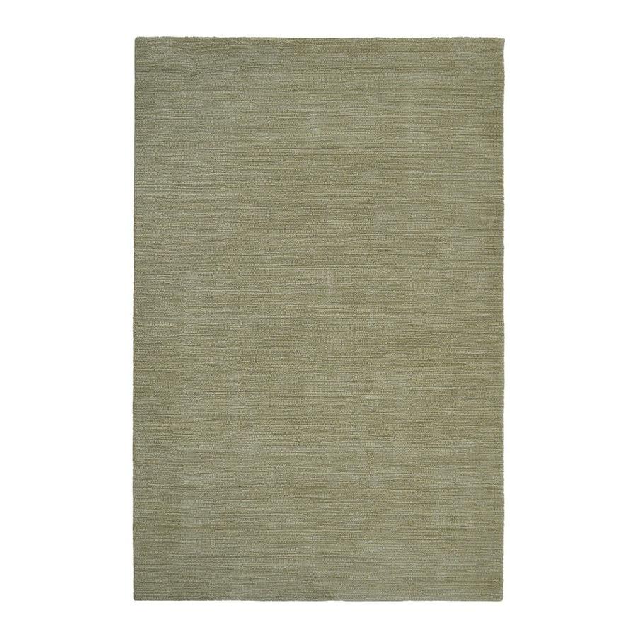 allen + roth Monteith Green Rectangular Indoor Woven Area Rug (Common: 5 x 8; Actual: 5-ft W x 7.5-ft L)