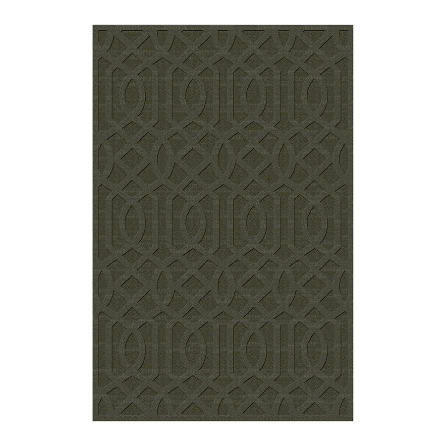 allen + roth Townlay Sage Rectangular Indoor Tufted Area Rug (Common: 5 x 8; Actual: 5-ft W x 7.5-ft L)