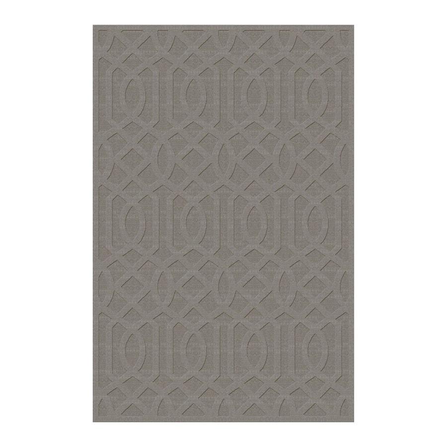 allen + roth Townlay Grey Rectangular Indoor Tufted Area Rug (Common: 9 x 12; Actual: 9-ft W x 12-ft L)