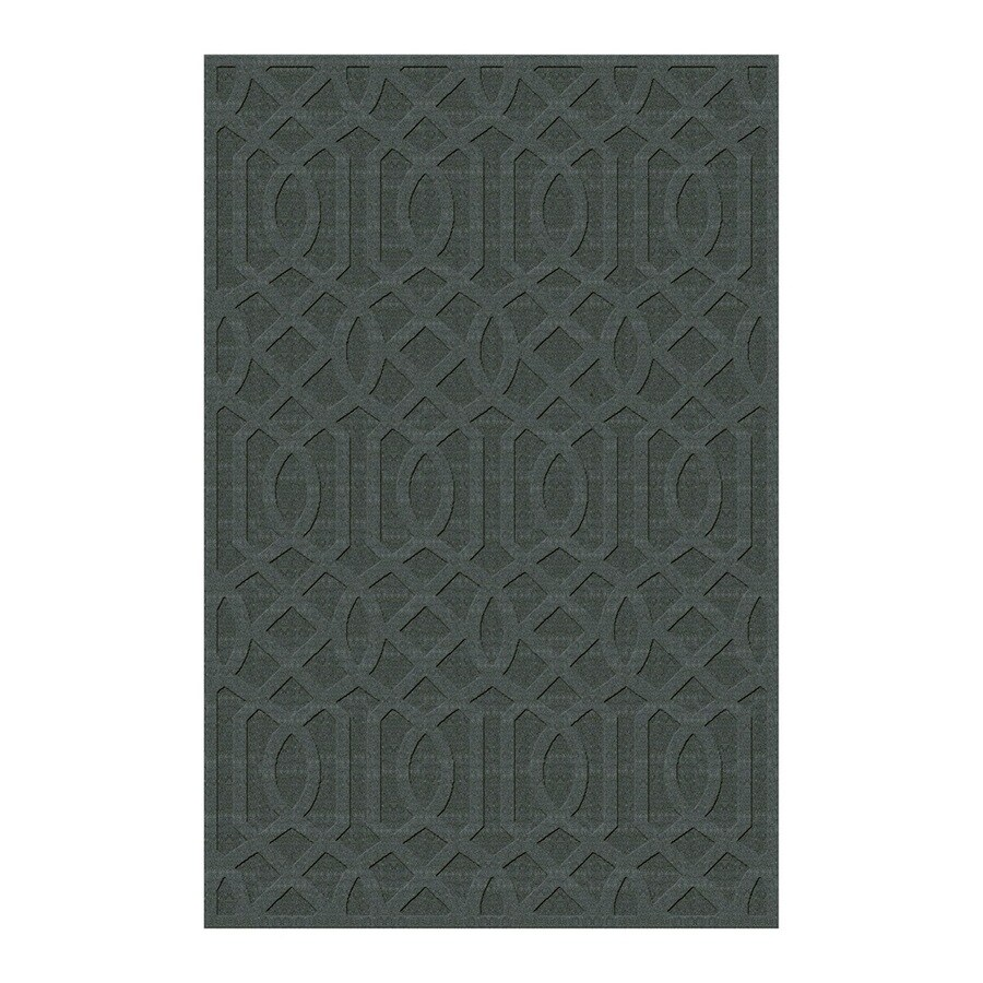 allen + roth Townlay Porcelain Rectangular Indoor Tufted Area Rug (Common: 5 x 8; Actual: 5-ft W x 7.5-ft L)