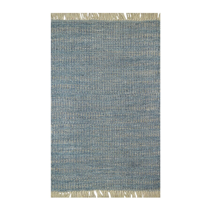 allen + roth Indochine Rectangular Indoor Loomed Throw Rug (Common: 2 x 4; Actual: 2.25-ft W x 3.75-ft L)