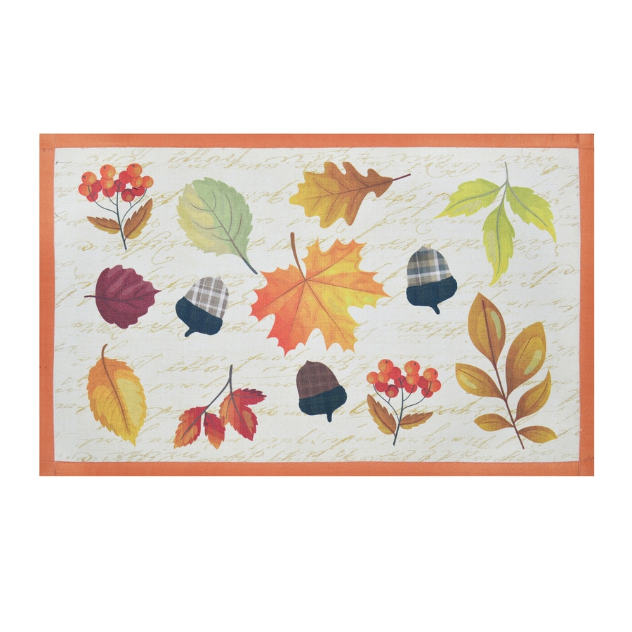 Holiday Living Multi Rectangular Indoor Machine-Made Nature Throw Rug (Common: 2 x 3; Actual: 1.75-ft W x 2.83-ft L)