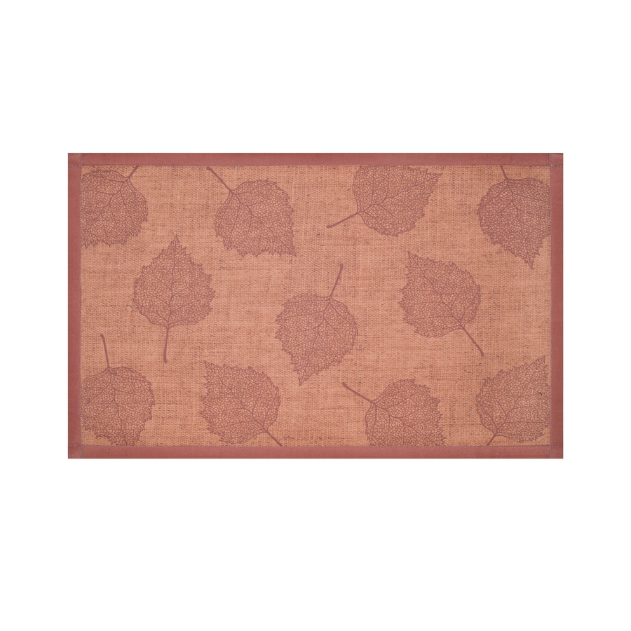 Holiday Living Rust Rectangular Indoor Machine-Made Nature Throw Rug (Common: 2 x 3; Actual: 1.75-ft W x 2.83-ft L)