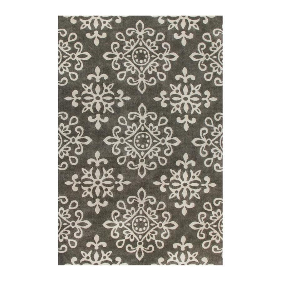 Shop Allen Roth Caprona Tonal Mocha Almond Indoor Area