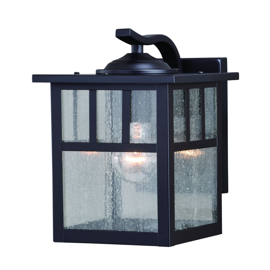 Cascadia Mission 9.5-in H Oil Burnished Bronze Medium Base ... on Cascadia Outdoor Living Spaces id=67948