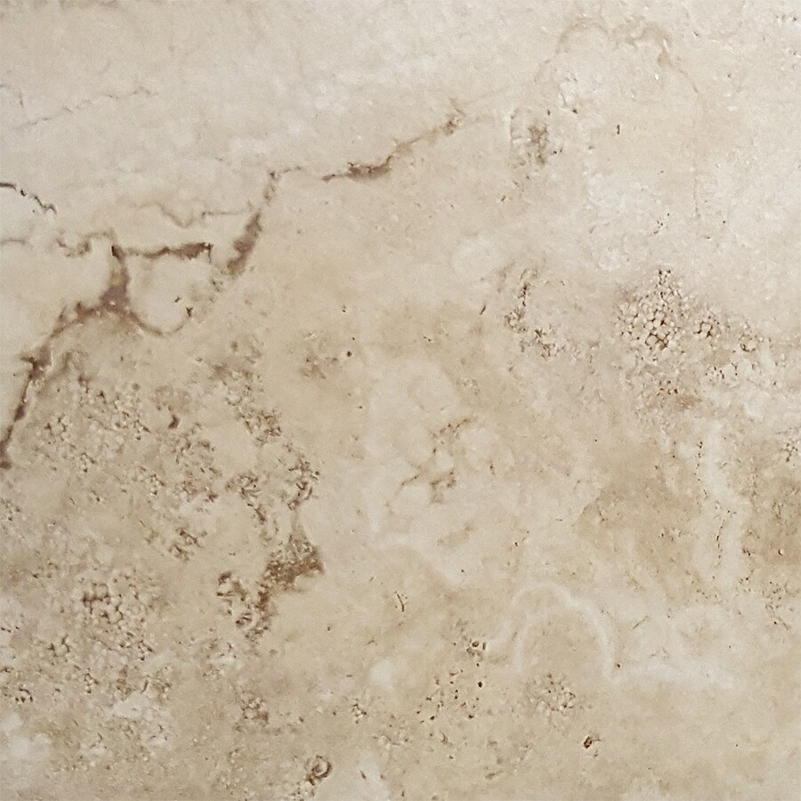 FLOORS 2000 Vesta 13-Pack Ivory Porcelain Floor and Wall Tile (Common: 13-in x 13-in; Actual: 13.11-in x 13.11-in)