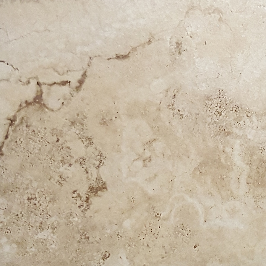 FLOORS 2000 Vesta 6-Pack Ivory Porcelain Floor and Wall Tile (Common: 20-in x 20-in; Actual: 19.69-in x 19.69-in)