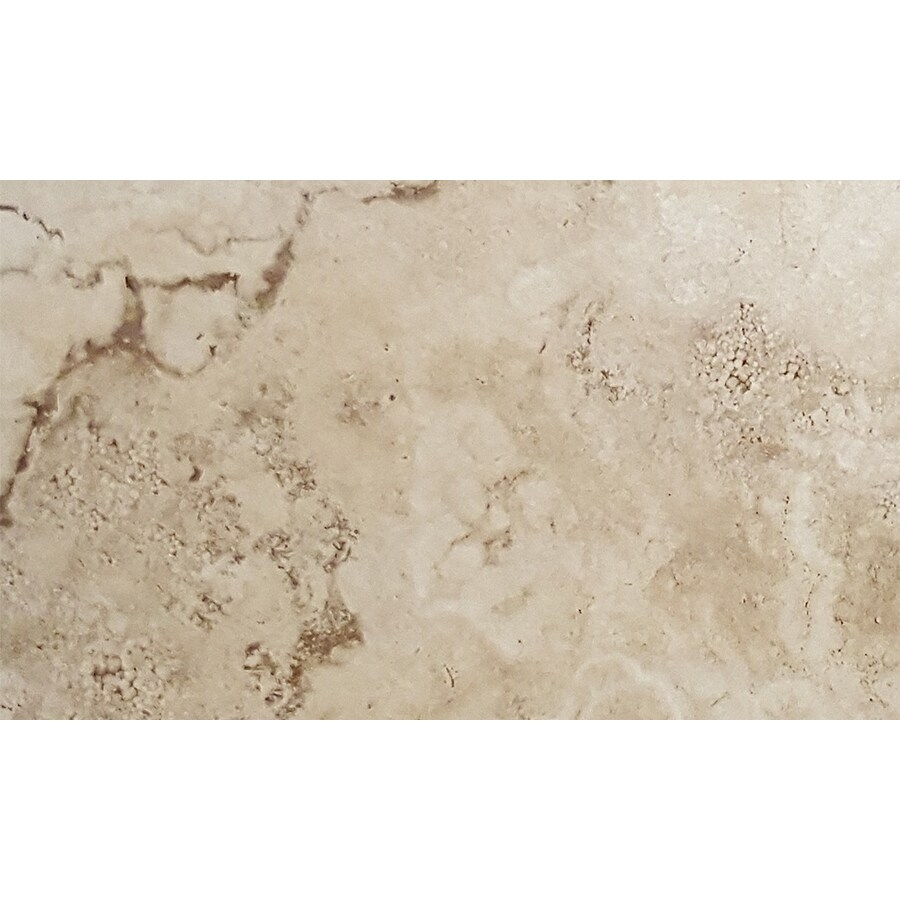 FLOORS 2000 Vesta 6-Pack Ivory Porcelain Floor and Wall Tile (Common: 12-in x 24-in; Actual: 23.63-in x 11.81-in)