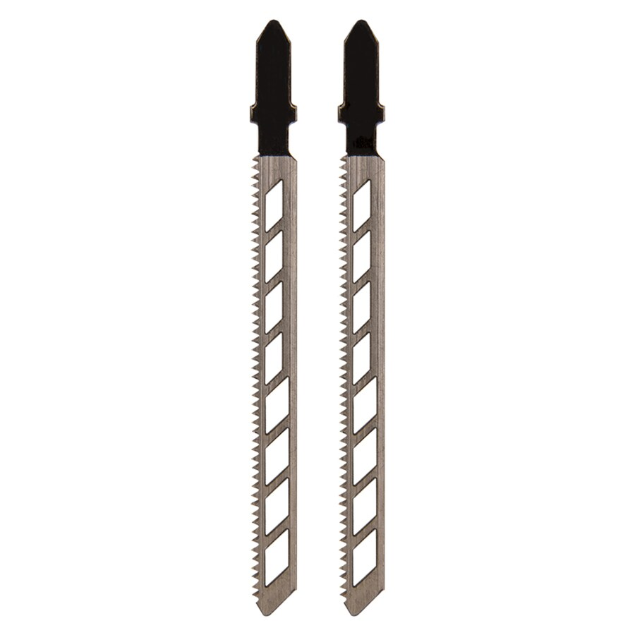 Spyder 2-Pack 4-in T-Shank Carbon Jigsaw Blades