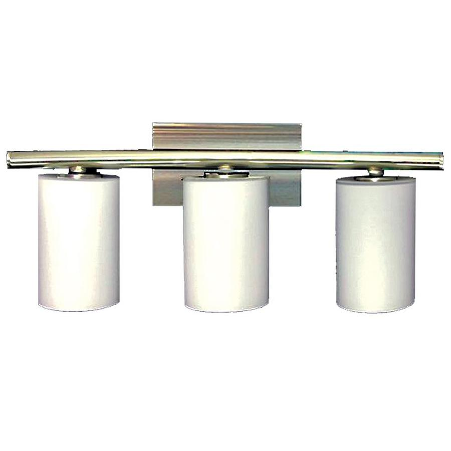 Shop Khaleesi 3 Light 9 In Satin Chrome Vanity Light At