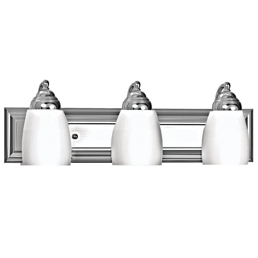 Khaleesi 3-Light 6.75-in Satin Chrome Vanity Light