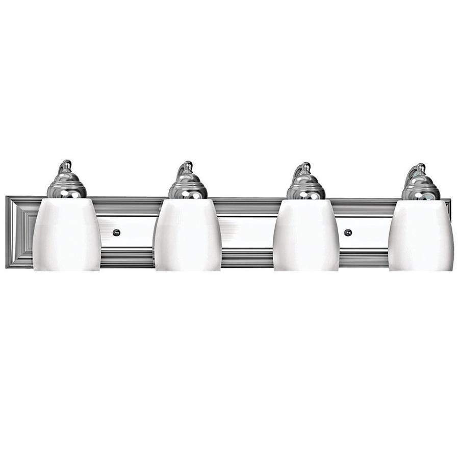 Khaleesi 4-Light 6.75-in Satin Chrome Vanity Light