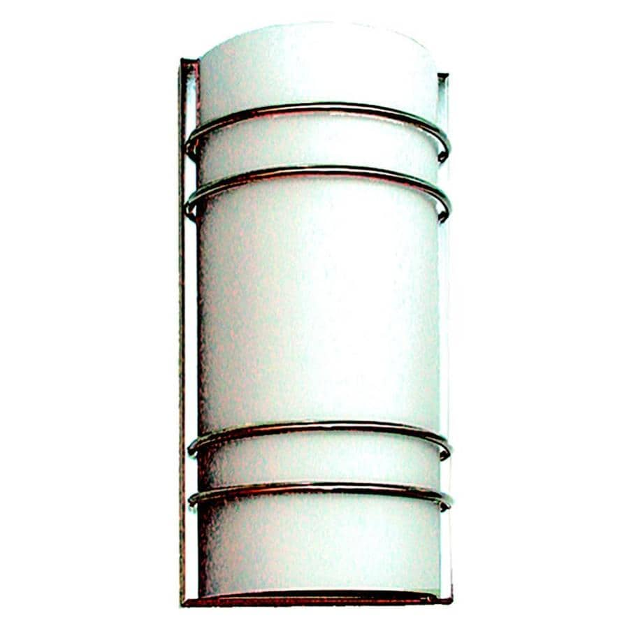 Khaleesi 7.5-in W 1-Light Satin Chrome Pocket Wall Sconce