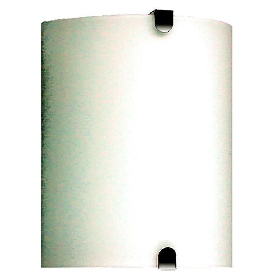 Khaleesi 8.75-in W 1-Light Satin Chrome Pocket Hardwired Wall Sconce