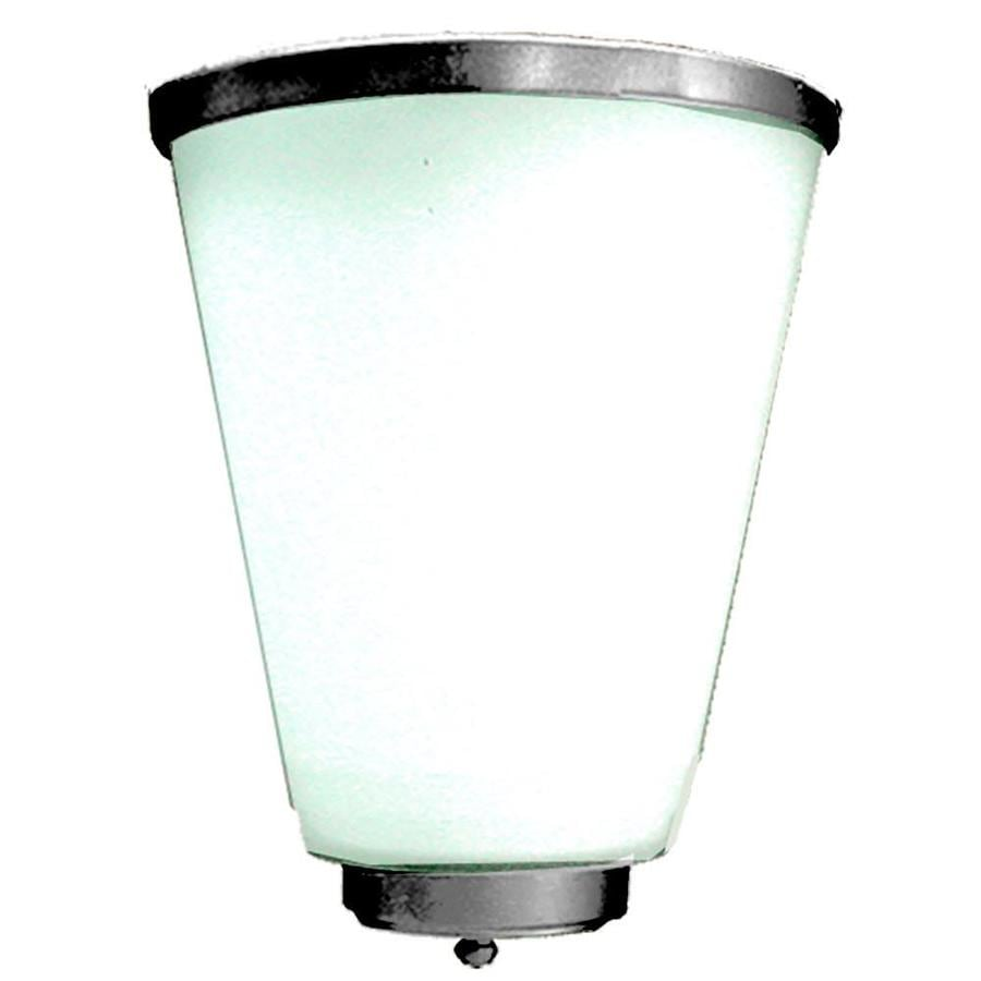 Shop Khaleesi 8-in W 1-Light Satin Chrome Corner Wall Sconce at Lowes.com