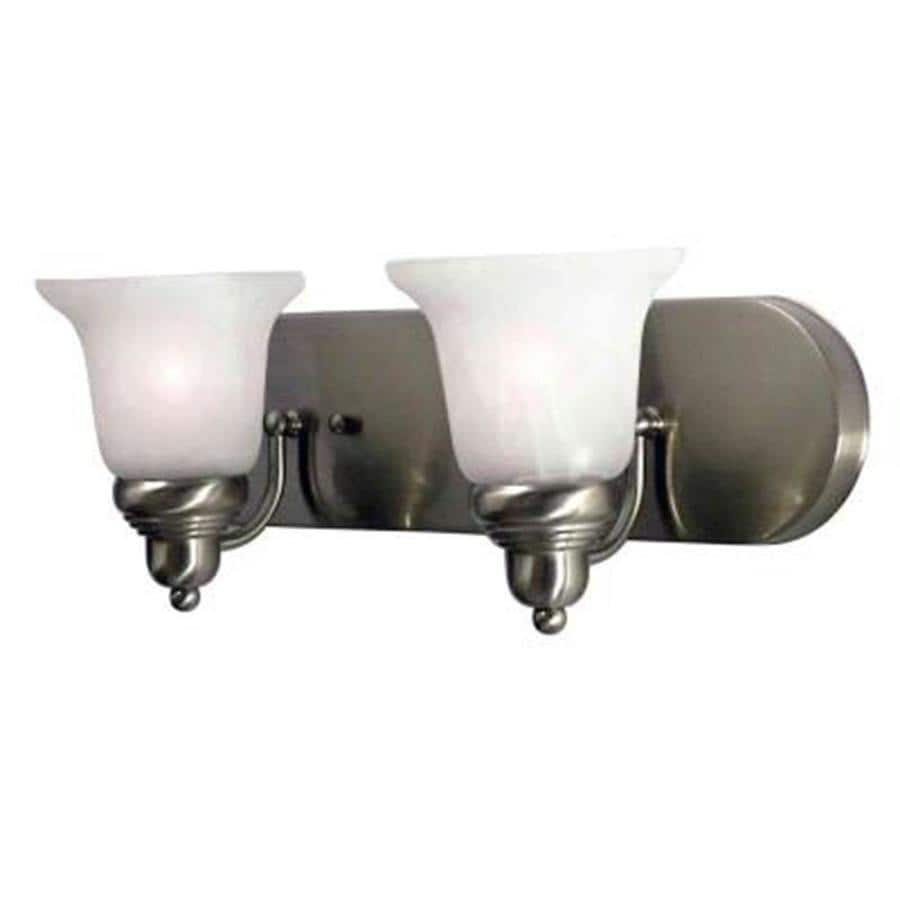 Khaleesi 2-Light 7-in Satin Chrome Vanity Light