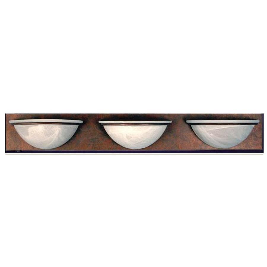 Khaleesi 3-Light 4.25-in Sierra Brick Bowl Vanity Light